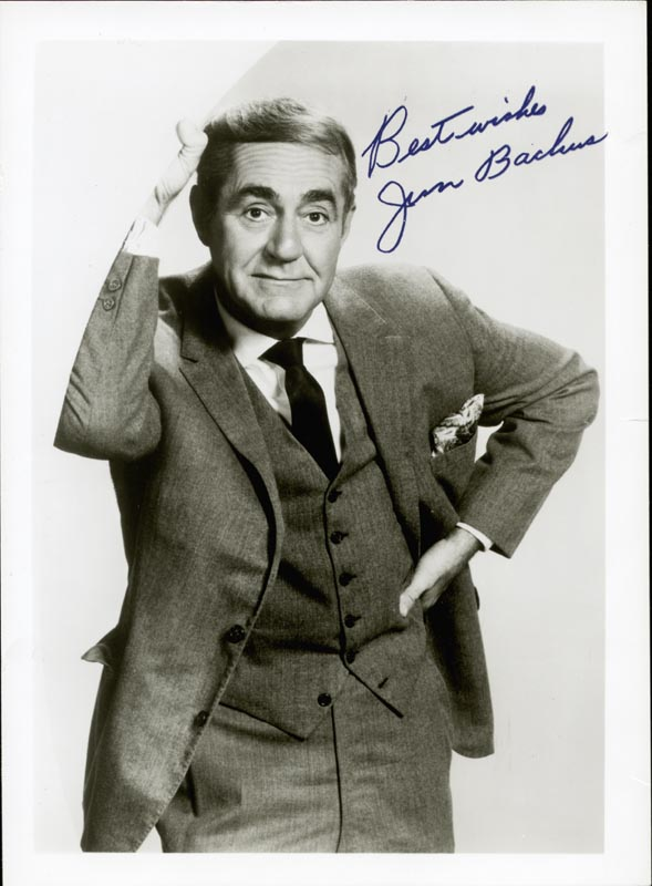Image 1 for Jim Backus - Autographed Signed Photograph Circa 1973 - HFSID 44399
