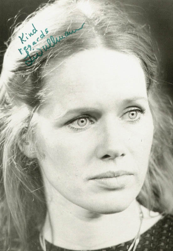 Image 1 for Liv Ullmann - Autographed Signed Photograph - HFSID 44455
