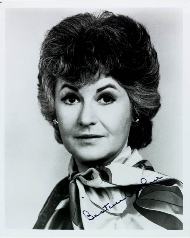 Image 1 for Beatrice 'Bea' Arthur - Autographed Signed Photograph - HFSID 44499