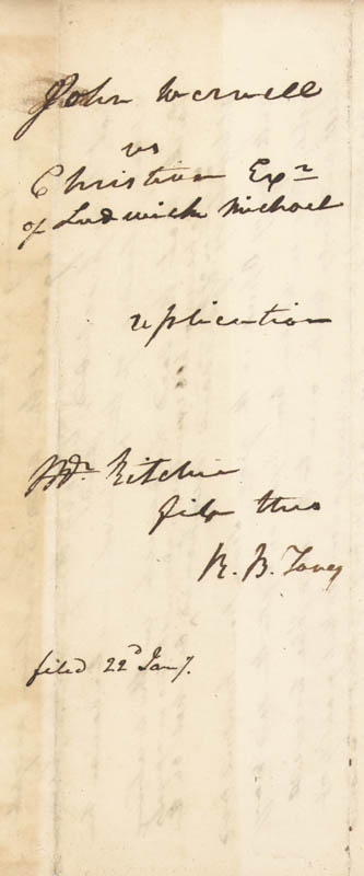 Image 3 for Chief Justice Roger B. Taney - Autograph Document Twice Signed - HFSID 4458