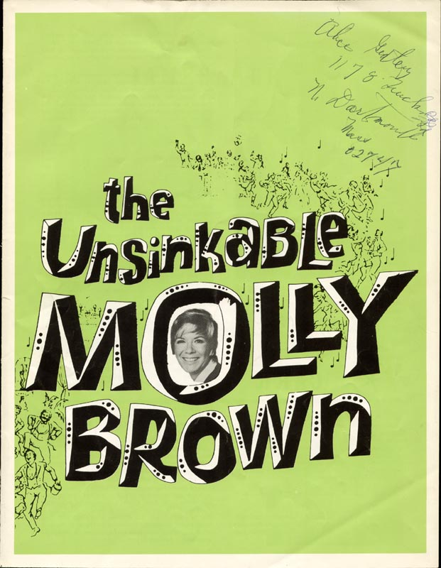 Image 4 for The Unsinkable Molly Brown Play Cast - Program Signed Circa 1969 co-signed by: Hank Parker, Vikki Carr - HFSID 4530