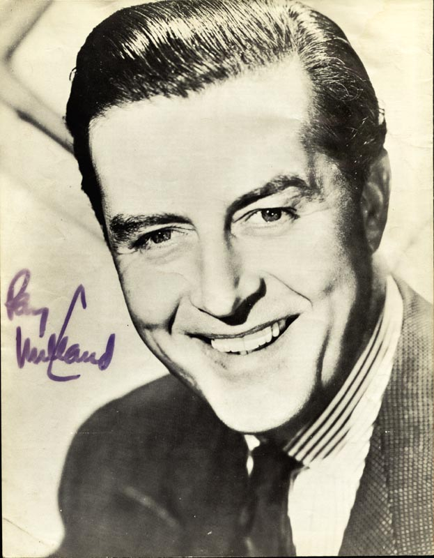 Image 1 for My Fair Lady Play Cast - Program Signed co-signed by: Ray Milland, Marilyn Savage - HFSID 4533