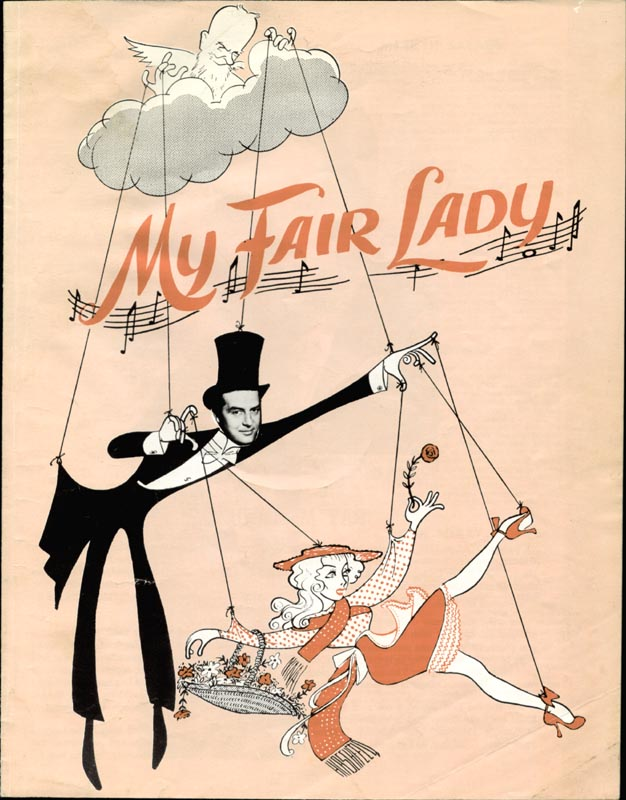 Image 4 for My Fair Lady Play Cast - Program Signed co-signed by: Ray Milland, Marilyn Savage - HFSID 4533