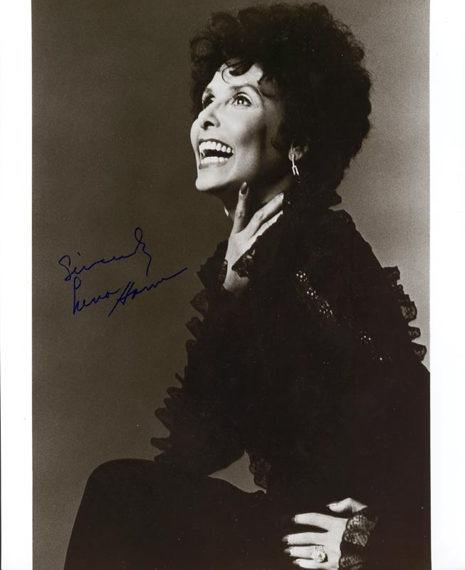 Image 1 for Lena Horne - Autographed Signed Photograph - HFSID 45528