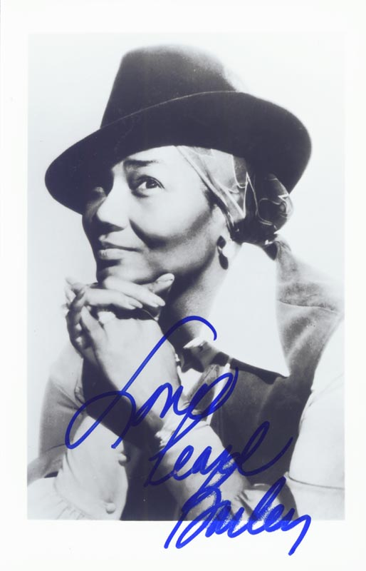Image 1 for Pearl Bailey - Autographed Signed Photograph - HFSID 45559