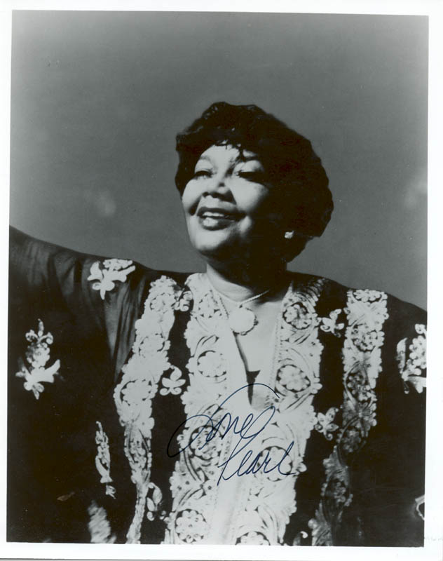 Image 1 for Pearl Bailey - Autographed Signed Photograph - HFSID 45686