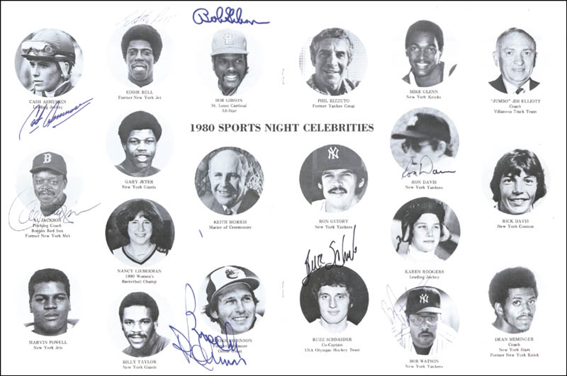 Image 1 for Brooks Robinson - Program Signed 05/29/1980 with co-signers - HFSID 45762
