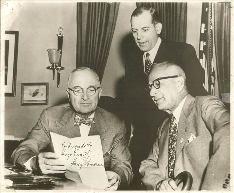 Image 1 for President Harry S Truman - Autographed Inscribed Photograph - HFSID 45983