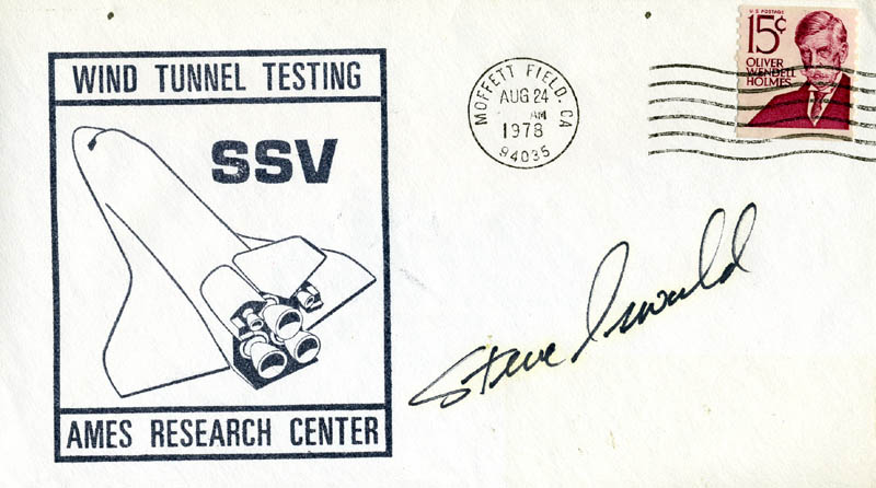 Image 1 for Steve Oswald - Commemorative Envelope Signed - HFSID 46221