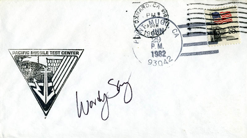 Image 1 for Colonel Sherwood C. 'Woody' Spring - Commemorative Envelope Signed - HFSID 46234