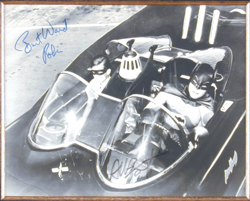 Image 3 for Batman TV Cast - Autographed Signed Photograph co-signed by: Burt Ward, Adam West - HFSID 46434