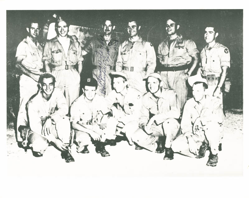 Image 1 for Enola Gay Crew (Colonel Thomas W. Ferebee) - Autographed Signed Photograph - HFSID 46545