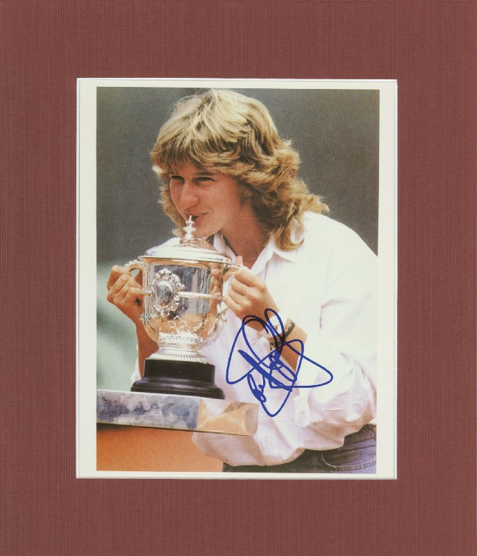 Image 1 for Steffi Graf - Autographed Signed Photograph - HFSID 46739