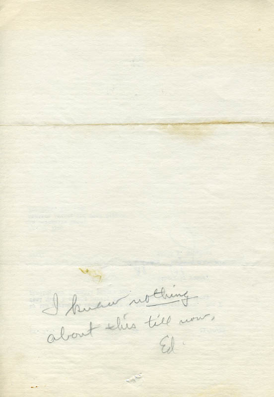 Image 4 for Elias E. Sugarman - Typed Letter Signed 11/20/1933 - HFSID 46967