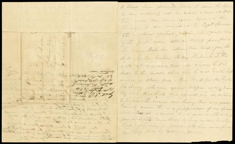 Image 4 for President Andrew Jackson - Autograph Letter Signed 10/23/1826 co-signed by: John H. Eaton - HFSID 4708