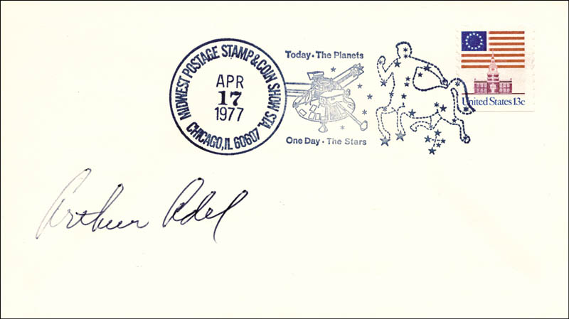 Image 1 for Arthur Adel - Special Cover Signed - HFSID 47237
