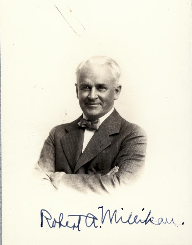 Image 1 for Robert A. Millikan - Autographed Signed Photograph - HFSID 47245