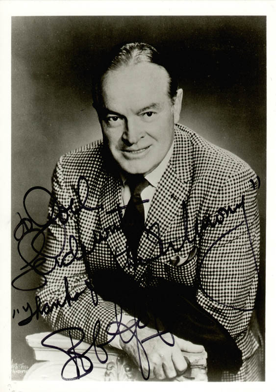 Image 1 for Bob Hope - Autographed Inscribed Photograph - HFSID 47477