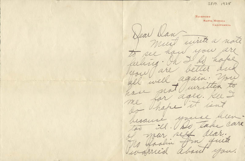 Image 3 for Joan Crawford - Autograph Letter Signed 09/24/1928 - HFSID 47555