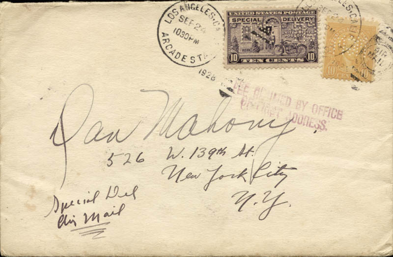 Image 4 for Joan Crawford - Autograph Letter Signed 09/24/1928 - HFSID 47555