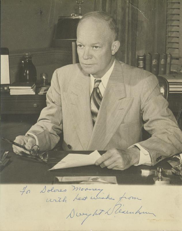 Image 1 for President Dwight D. Eisenhower - Autographed Inscribed Photograph - HFSID 47671
