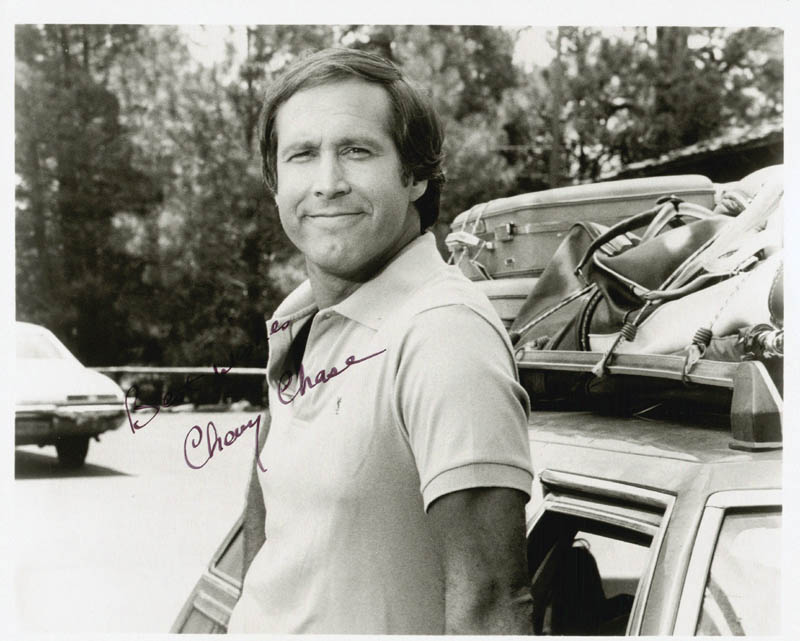 Image 1 for Chevy Chase - Autographed Signed Photograph - HFSID 47769