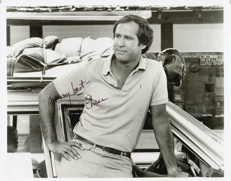 Image 1 for Chevy Chase - Autographed Signed Photograph - HFSID 47772