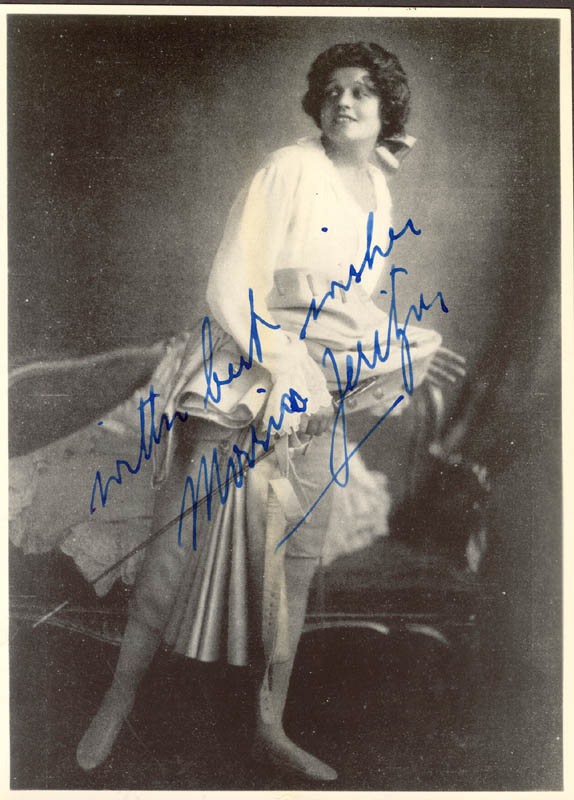 Image 1 for Maria Jeritza - Autographed Signed Photograph - HFSID 48069