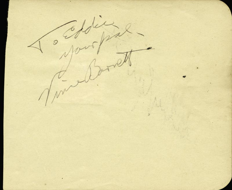 Image 3 for Shirley Temple - Autograph co-signed by: Vince Barnett - HFSID 48267