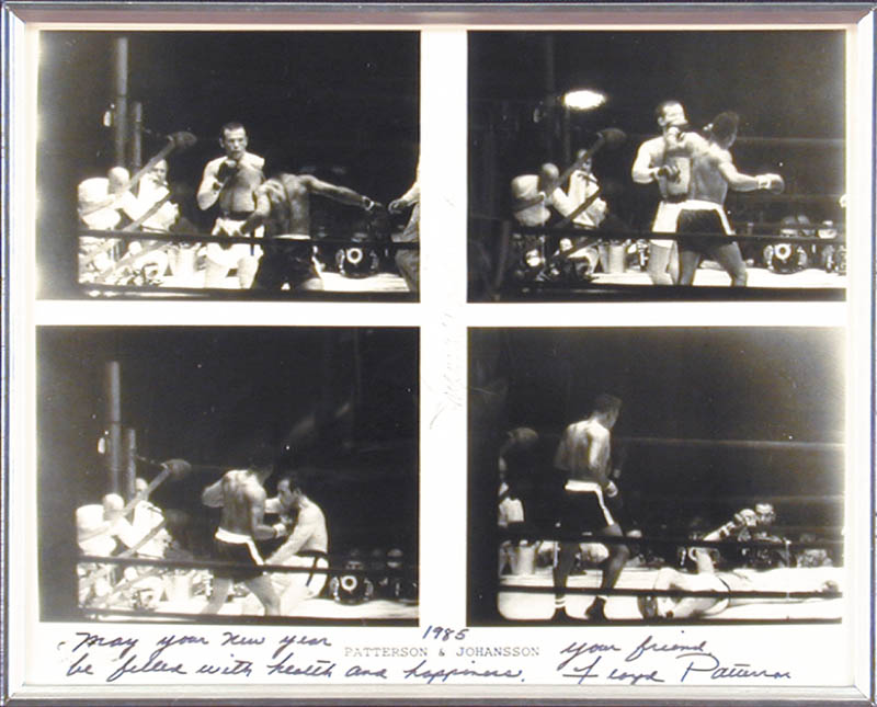 Image 3 for Floyd Patterson - Autographed Signed Photograph 1985 co-signed by: Ingemar Johansson - HFSID 48311