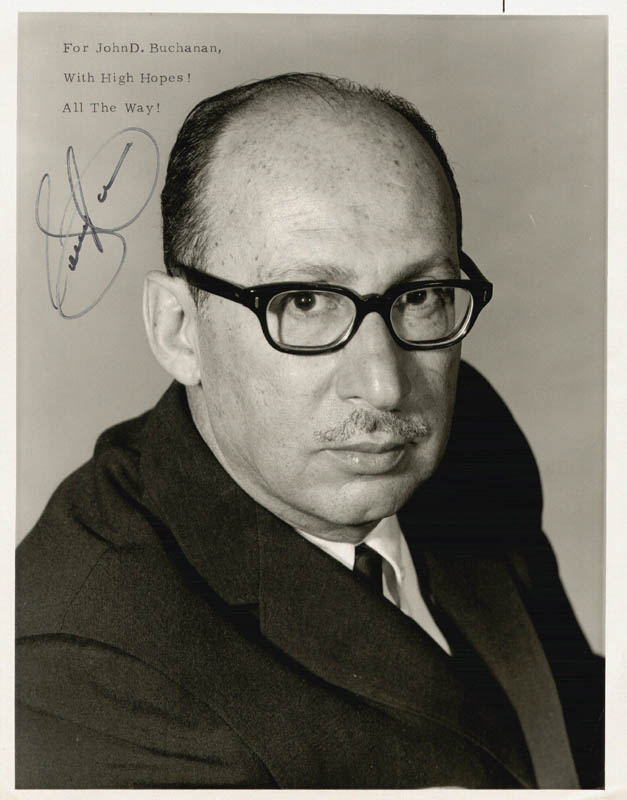 Image 1 for Sammy Cahn - Autographed Signed Photograph - HFSID 48519