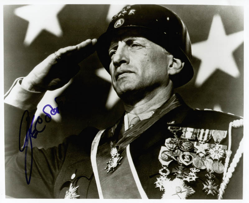 Image 1 for George C. Scott - Autographed Signed Photograph - HFSID 48704