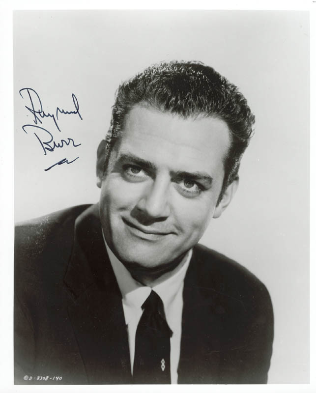 Image 1 for Raymond Burr - Autographed Signed Photograph - HFSID 48717