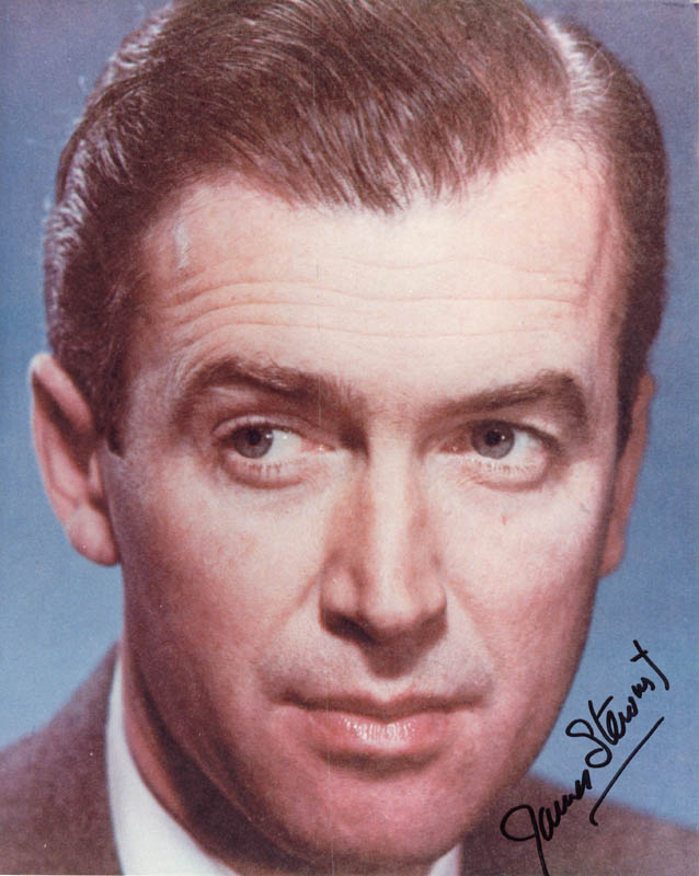 Image 1 for James 'Jimmy' Stewart - Autographed Signed Photograph - HFSID 48829