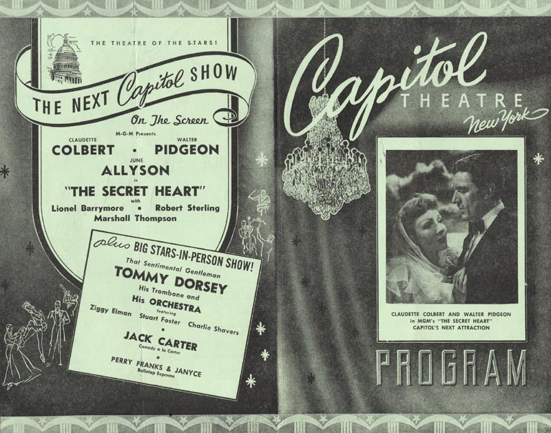 Image 3 for Robert Taylor - Program Signed Circa 1946 - HFSID 493