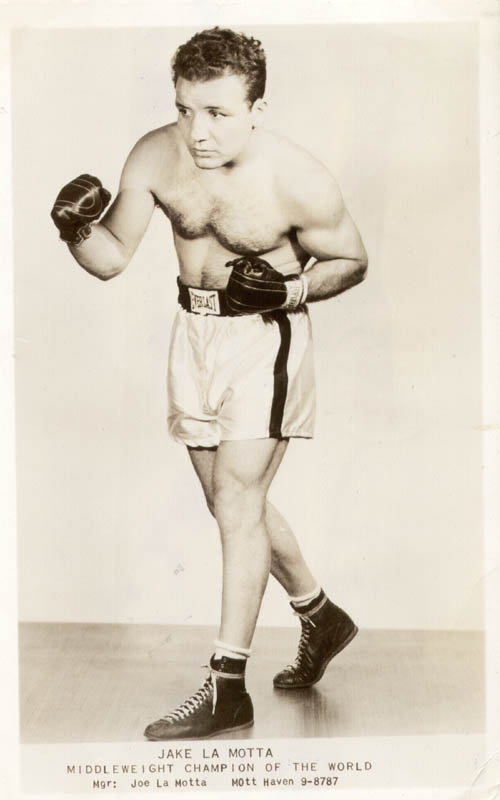 Image 3 for Jake 'The Raging Bull' La Motta - Picture Post Card Signed 08/05/1949 - HFSID 49562