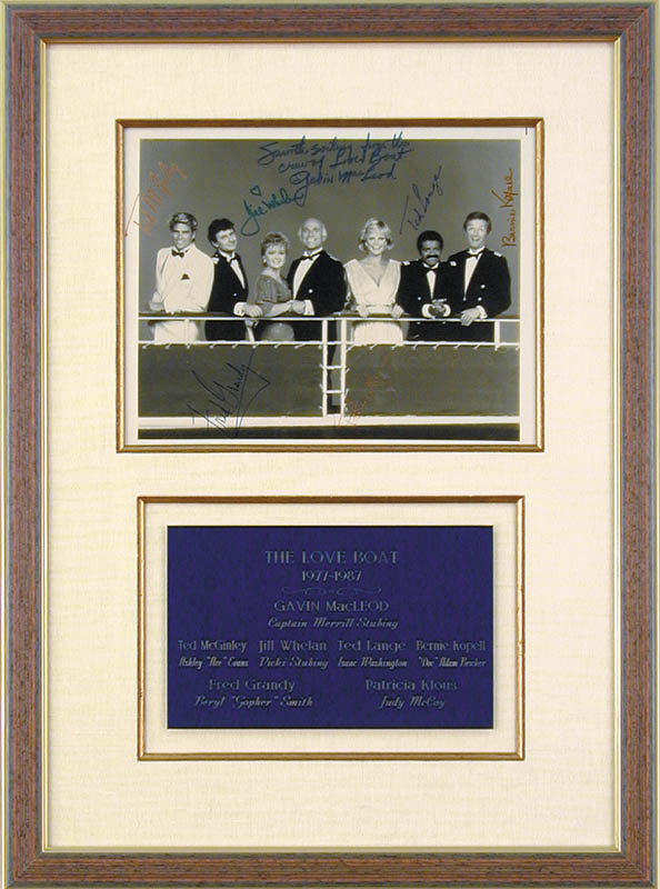 Image 1 for The Love Boat TV Cast - Autographed Signed Photograph with co-signers - HFSID 49686