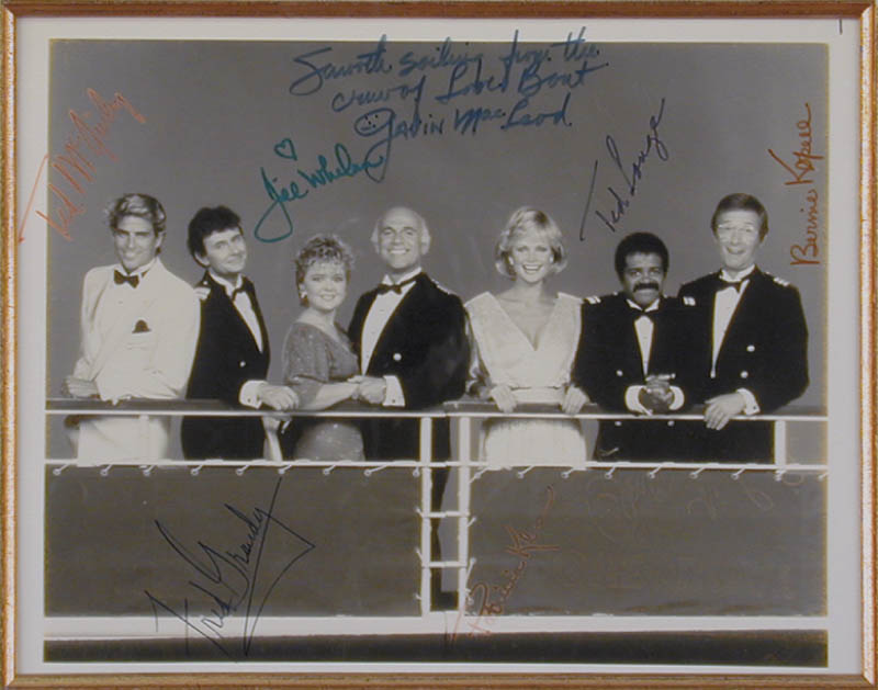 Image 3 for The Love Boat TV Cast - Autographed Signed Photograph with co-signers - HFSID 49686