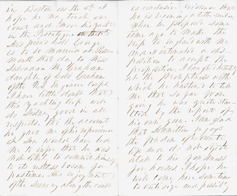 Image 3 for President Franklin Pierce - Autograph Letter Signed 07/07/1865 - HFSID 4987