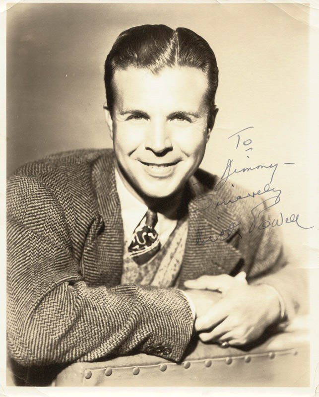 Image 1 for Dick Powell - Autographed Inscribed Photograph - HFSID 49938
