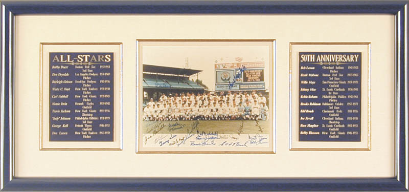 Image 1 for All-star Anniversary - Autographed Signed Photograph Circa 1983 with co-signers - HFSID 50502