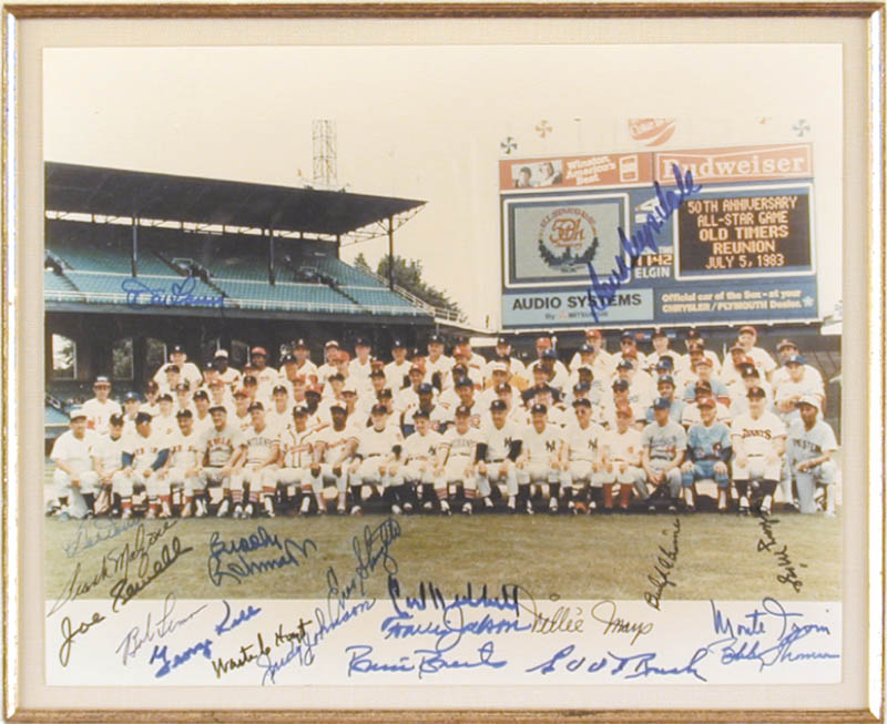 Image 3 for All-star Anniversary - Autographed Signed Photograph Circa 1983 with co-signers - HFSID 50502