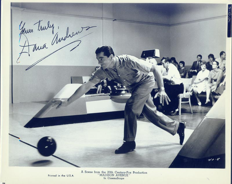 Image 1 for Dana Andrews - Autographed Signed Photograph - HFSID 50779