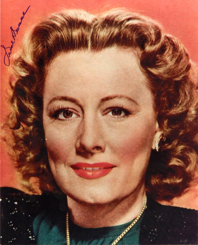 Image 1 for Irene Dunne - Autographed Signed Photograph - HFSID 50922