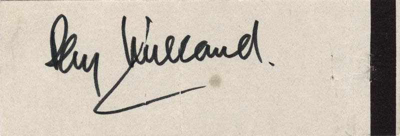 Image 1 for Ray Milland - Match Book Signed Circa 1966 - HFSID 51219
