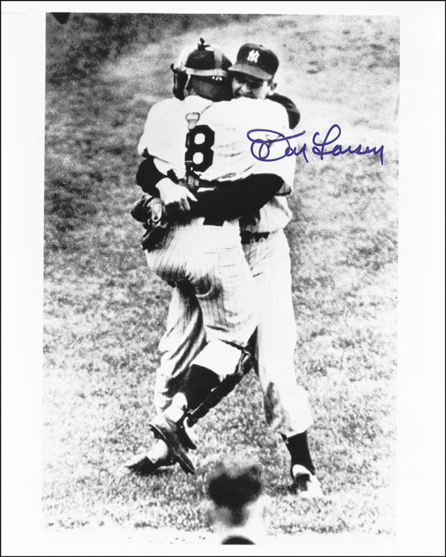Image 1 for Don Larsen - Autographed Signed Photograph - HFSID 51381