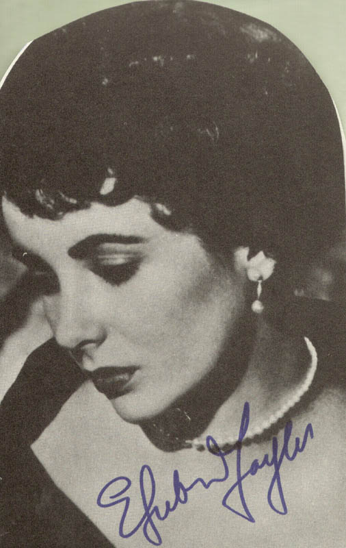 Image 1 for Elizabeth 'Liz' Taylor - Magazine Photograph Signed - HFSID 51593