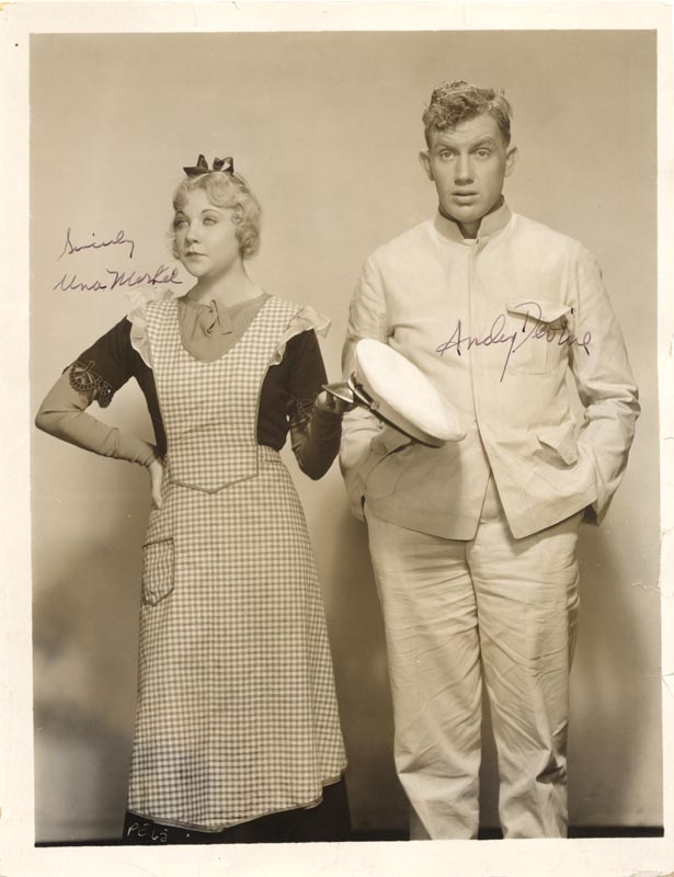 Image 1 for Impatient Maiden Movie Cast - Autographed Signed Photograph co-signed by: Una Merkel, Andy Devine - HFSID 52292