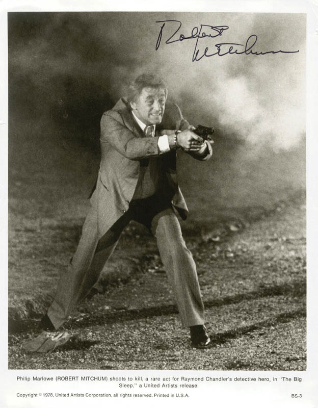 Image 1 for Robert Mitchum - Autographed Signed Photograph - HFSID 52310