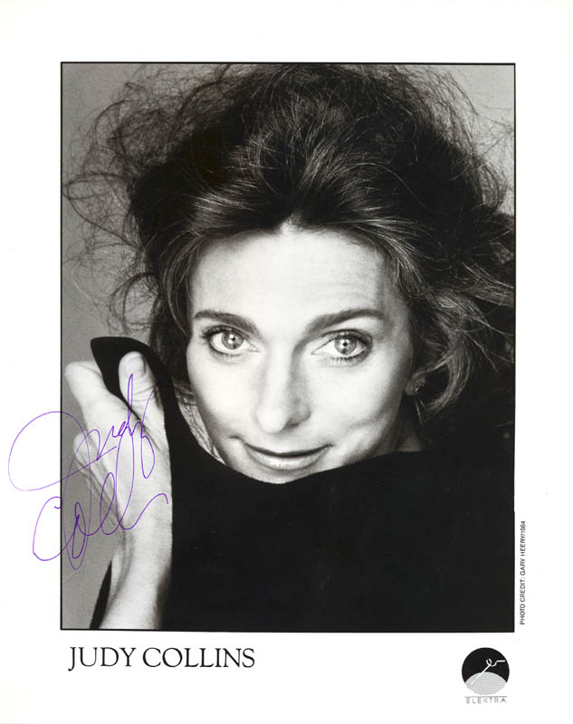 Image 1 for Judy Collins - Autographed Signed Photograph - HFSID 52329